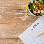 hubnutí a dieta pravidelnost