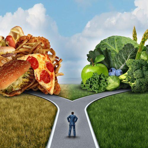 nezdravé jídla